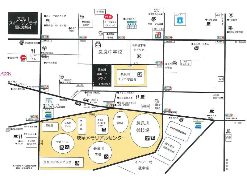 周辺施設地図